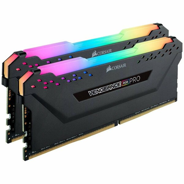 Corsair CMW32GX4M2Z3600C18 Vengeance Rgb Pro 32Gb Memory Kit (2 X 16Gb), DDR4, 3600Mhz (PC4-28800),