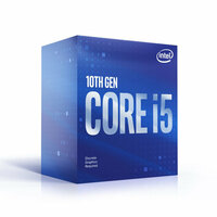 Intel  Intel Core i5 10600KF 4.10GHz; TurboBoost: 4.5GHz, LGA1200; 125 Watt Box - No Graphics