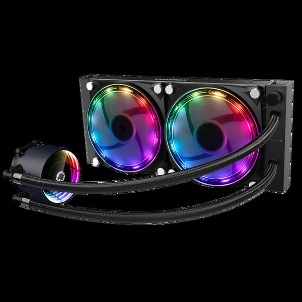 GameMax  Iceberg 240mm ARGB Water Cooling System 3pin AURA Sync - AMD / Intel
