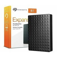 Seagate  5Tb Black Portable USB3.0 HDD 2.5 Inch - Black
