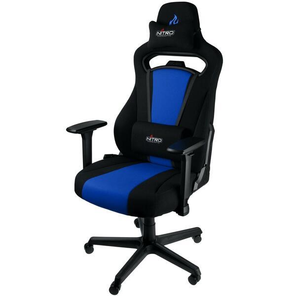 Nitro Concepts  E250 Gaming Chair - Black / Blue - Cloth