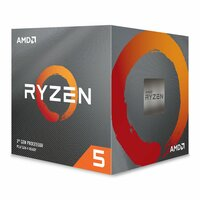 AMD  Ryzen™ 5 3500X, Am4, Zen 2, 6 Core, 6 Thread, 3.6Ghz, 4.1Ghz Turbo, 32Mb L3, Retail Boxed