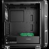 GameMax  F15M Mesh Gaming Case 2x 20cm ARGB Fan 1x 12cm ARGB Fan TG Side Image