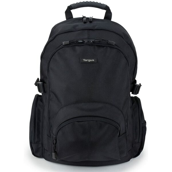 Targus (CN600) Classic Business Professional Travel and Commuter Backpack for 15.6-Inch Laptop, Black (Special Offer) Normal Price £29.99
