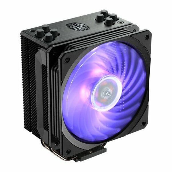 Coolermaster  Hyper 212 RGB Black Edition 120mm PWM RGB CPU Cooler with Controller
