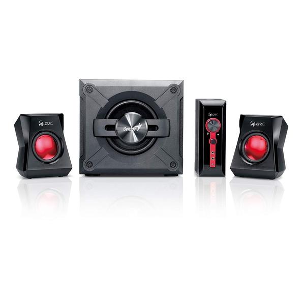 Genius  2.1 1250 Black & Gold Gaming Speaker System