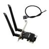Addon  WiFi 6 11AX Bluetooth 5 MU-MIMO Dual Band PCI-E Adapter Image