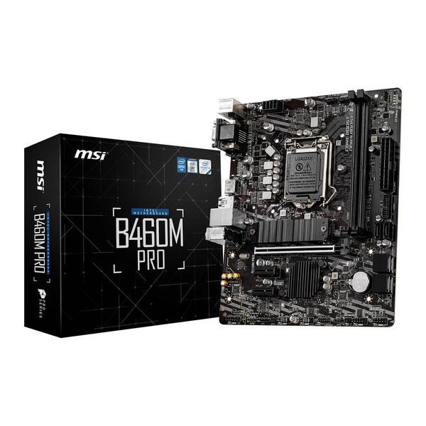 MSI  Intel B460M PRO Intel Socket 1200 Micro ATX Motherboard