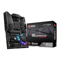 MSI (MPG B550 GAMING PLUS) MPG B550 GAMING PLUS AMD Socket AM4 Motherboard