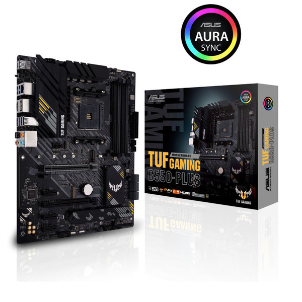 ASUS B550-PLUS--WI-FI AMD Ryzen B550 Plus WiFi AM4 PCIe 4.0 ATX Motherboard