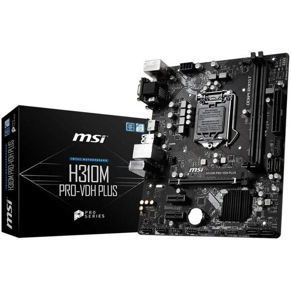 MSI  Intel H310 Coffee Lake Micro Atx Motherboard - Coffeelake Cpus Only