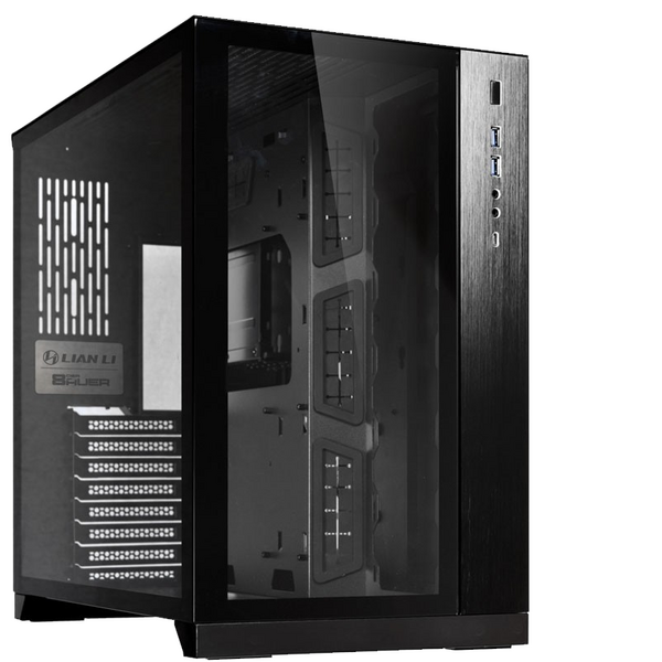 Lian Li  Dynamic Midi-Tower - Black Window