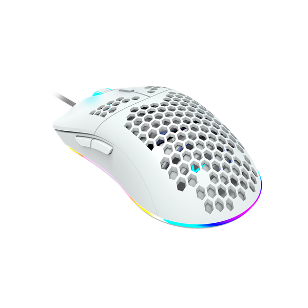 Canyon  Puncher 7 Button Light Weight (69 g) Gamning Mouse - White