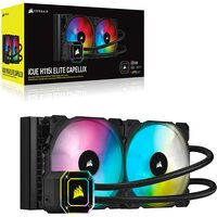 Corsair  iCUE H115i ELITE CAPELLIX 280mm RGB Liquid CPU Cooler, 2 x 12cm ML140 RGB PWM