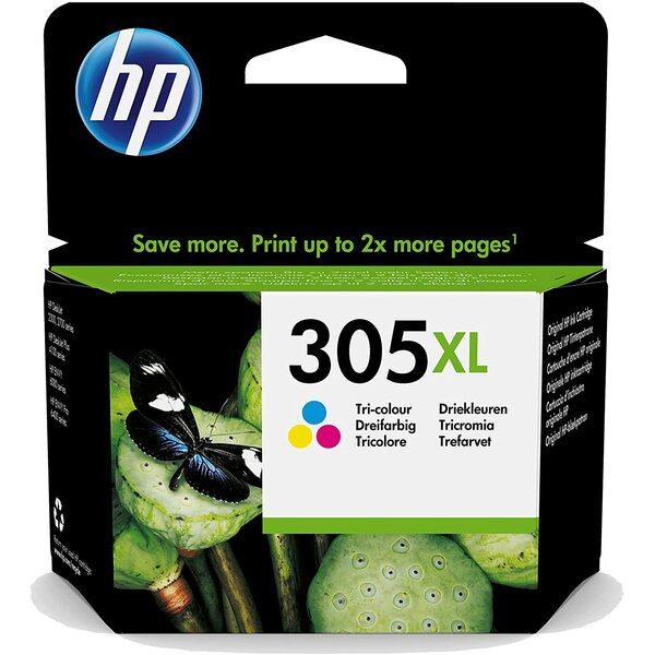HP  HP 305 XL - Print Cartridge - 1 X Tri Colour - 200 Page Yeild