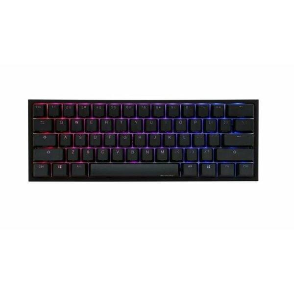 Ducky  One2 Mini 60% RGB USB Mechanical Gaming Keyboard Black Cherry MX Switch UK Layout
