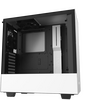 NZXT  H510 Mid Tower Gaming PC Case, ATX, Tempered Glass Panel, 2x 120mm Fan - White Image