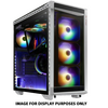 XPG BATTLECRUISER-WHCWW XPG BATTLECRUISER Super Mid- Tower PC Chassis (White) Image