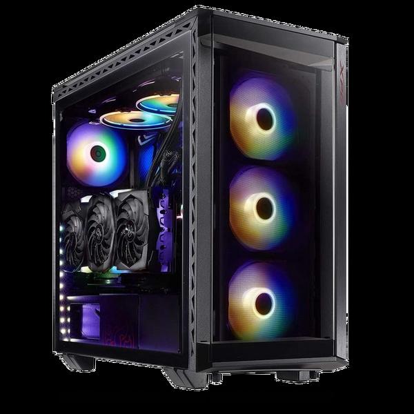 XPG  Xpg Battlecruiser Super Mid- Tower PC Chassis (Black)