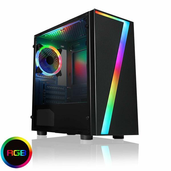 Falcon  Gaming PC, AMD Ryzen 5 2400G, 8GB DDR4, 480Gb SSD, Windows 10