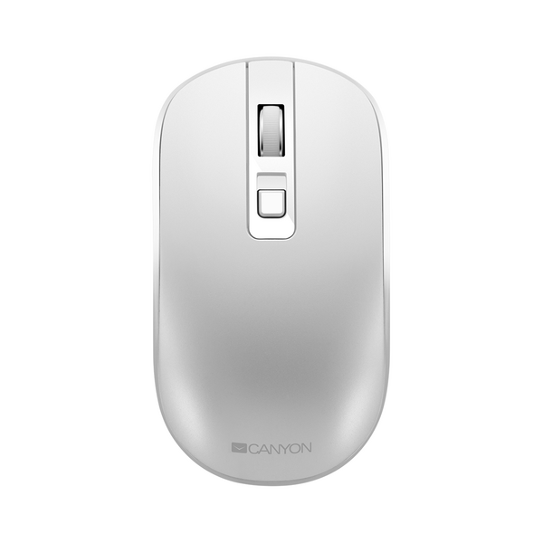 Canyon  Wireless Rechargeable Optical Mouse MW18, White