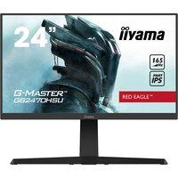 Iiyama  G-Master Red Eagle Height Adjustable 24` Full HD IPS FreeSync Premium 165Hz Gaming Monitor