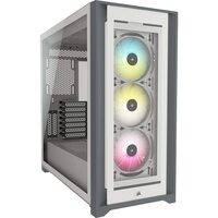 Corsair  iCUE 5000X RGB Gaming Case with 4x Tempered Glass Panels, E-ATX, 3 x AirGuide