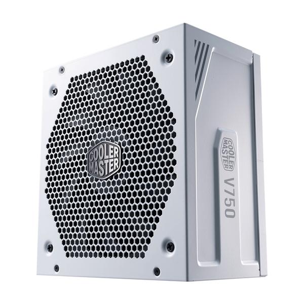 Coolermaster  V750 Gold V2 White Edition 750W 135mm Silent FDB Fan 80 PLUS Gold Fully Modular PSU