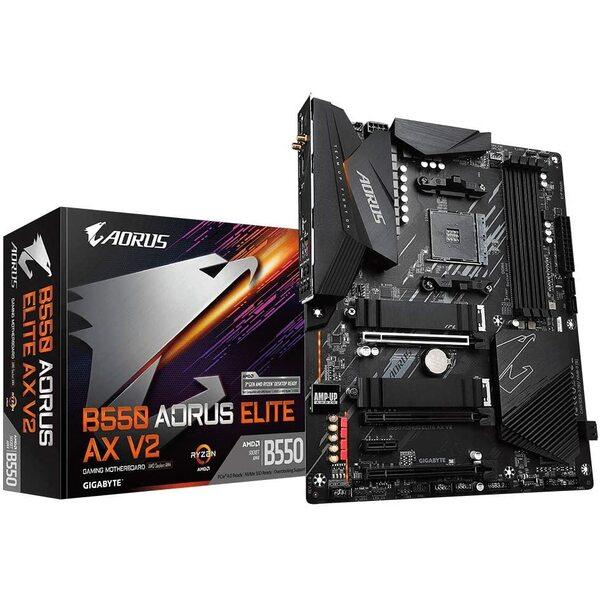 Gigabyte   AMD Ryzen  AM4 PCIe 4.0 ATX Motherboard