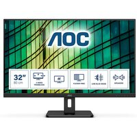 AOC  32 Inch 4K UHD Monitor, 60Hz, 4ms, VA, Speakers
