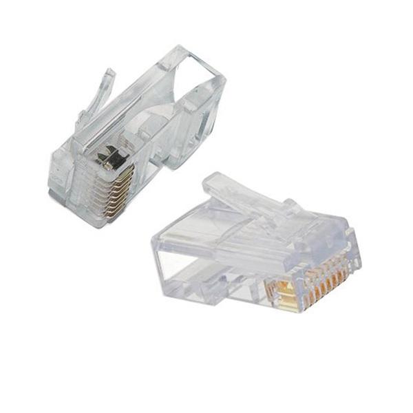 Generic  100 Pack Rj45 Plugs Cat5 - Crimp Connector