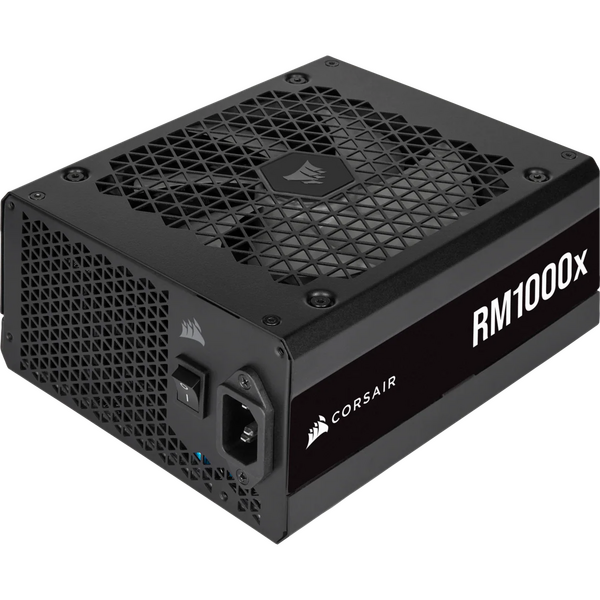 Corsair CP-9020201-UK 1000W Enthusiast RMx Series RM1000X V2 PSU, Magnetic Levitation Fan, Fully Modular, 80+ Gold, 10 Year Warranty- Special Offer