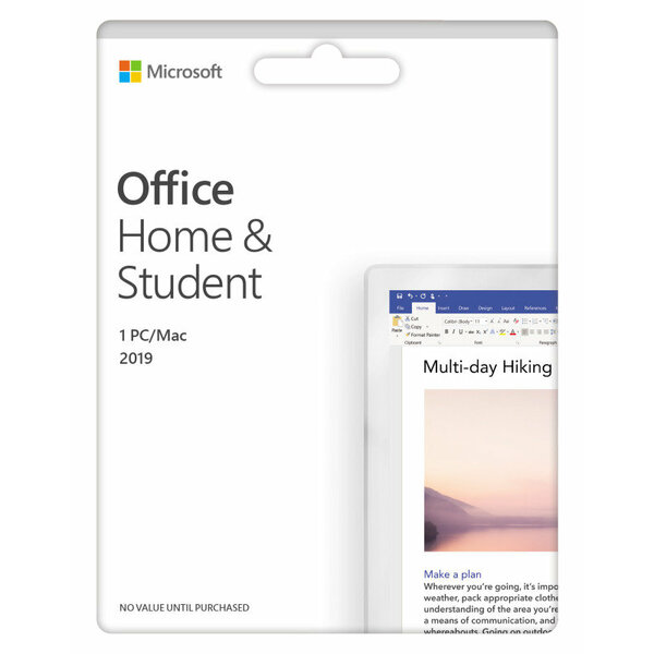Microsoft  Microsoft Office 2019 Home & Student All Languages Eurozone ESD Software (download Licence sent Direct to your mail box)