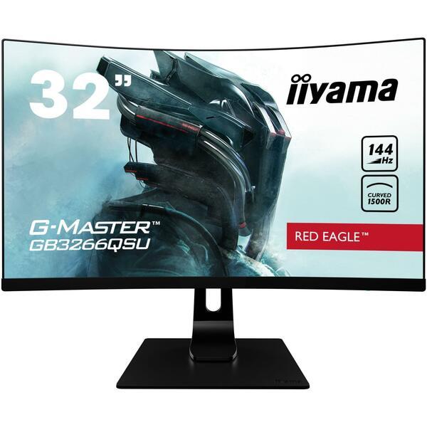Iiyama  31.5 Inch Red Eagle G-MASTER QHD 1440p VA Gaming monitor