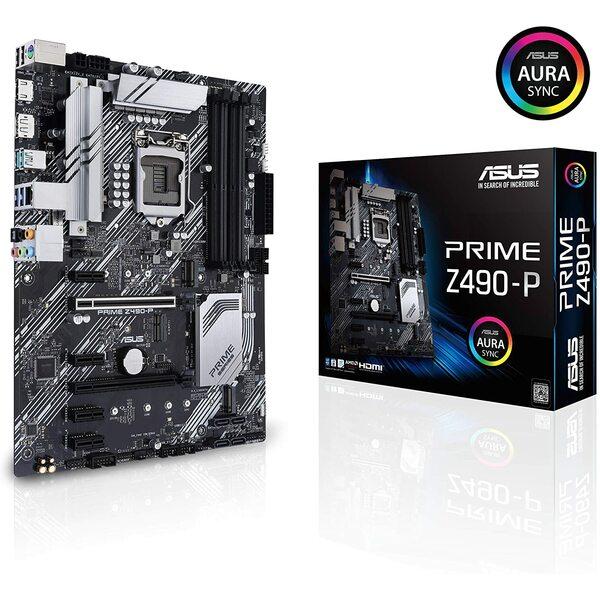 ASUS  ASUS Z490-P ATX Motherboard - LGA1200 Socket 10th, 11th gen