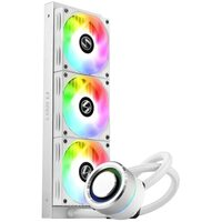 Lian Li GALAHAD AIO 360 RGB WT Galahad 360mm High Performance RGB CPU Water Cooler - White