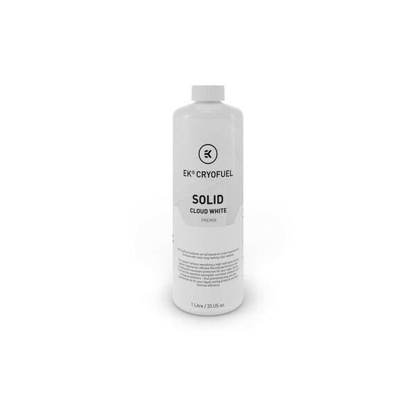 EK  Ek-Cryofuel Solid Cloud White - 1L Premix Watercooling Fluid - 1 Litre
