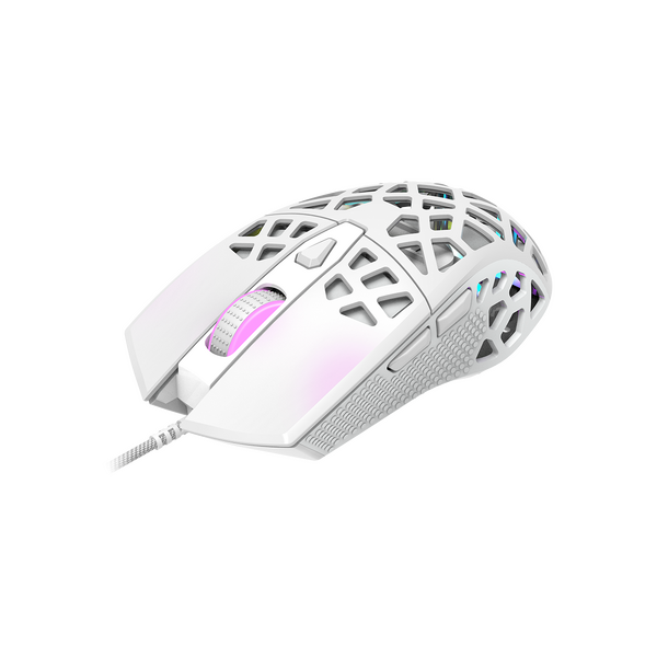 Canyon CND-SGM20W Puncher GM20 7 Button Light Weight (65 g) Gamning Mouse - White