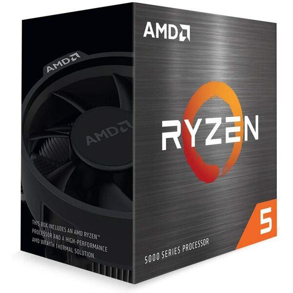 AMD  Amd Ryzen 5 5600G 6 Core, 12 Thread, 4.4Ghz, 3.9Ghz Base