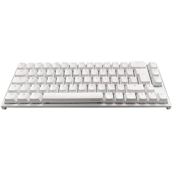 Ducky One2 SF 65% Pure White RGB Backlit Silent Red Cherry MX Keyboard
