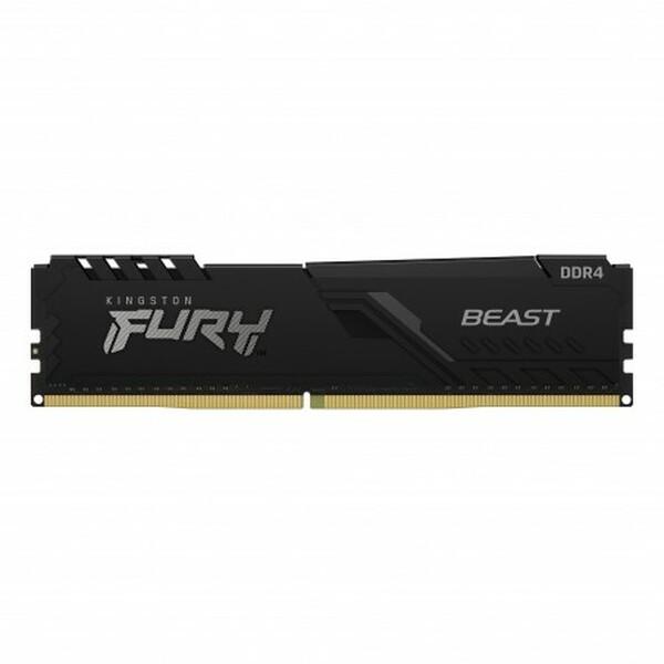 Kingston  Fury Beast 32GB, DDR4, 3200MHz (PC4-25600), CL16, Black